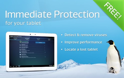 FREE Tablet AntiVirus Security - screenshot thumbnail