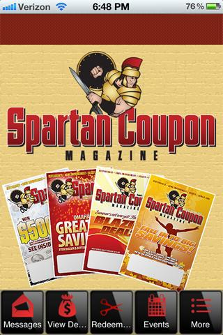 Spartan Coupon Magazine