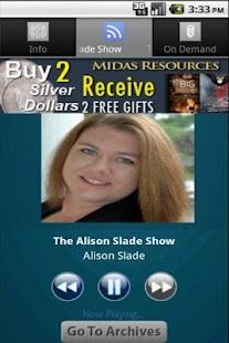 The Alison Slade Show - screenshot thumbnail