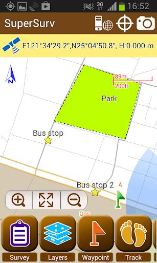 SuperSurv Lite --GIS App  screenshots 2