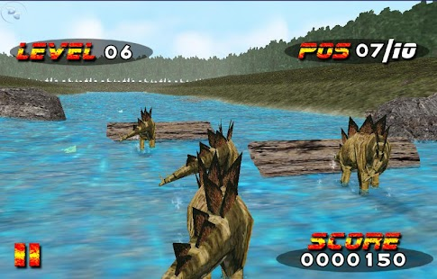 Jurassic Race - náhled