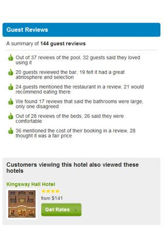 Cheap Hotel Price Comparison - screenshot