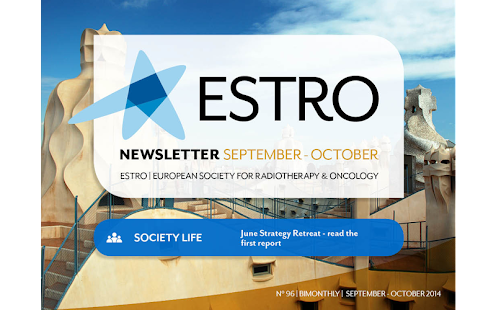 ESTRO News- screenshot thumbnail