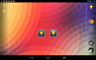 Screenshot of Brightness Widget - Backlight!