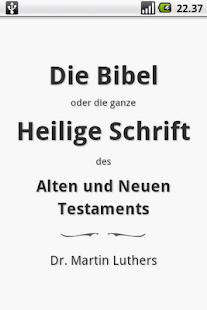 Die Bibel, Luther (Holy Bible) 書籍 App-愛順發玩APP