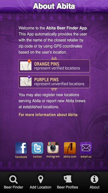 Abita App - screenshot