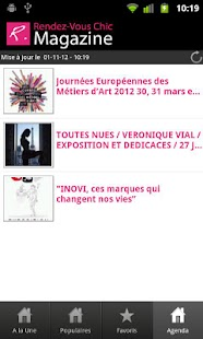Rendez-Vous Chic magazine - screenshot thumbnail