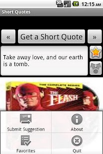 Short Quotes - screenshot thumbnail