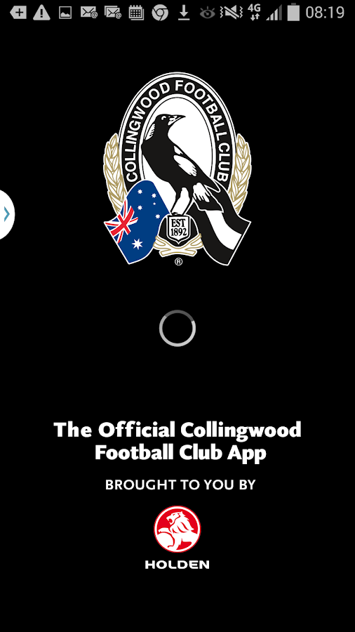 Collingwood Official App- screenshot