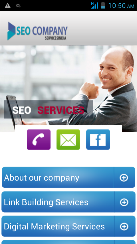 Seo Company Services India- screenshot