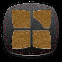 Next Launcher 3D Leather Theme 1.06