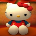 Hello Cute Kitty HD Wallpaper icon