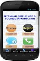 Screenshot of Simple Myanmar Map Offline
