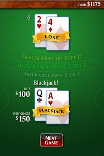 Ace Roller Blackjack - screenshot thumbnail