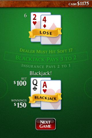 Ace Roller Blackjack- screenshot