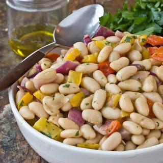 White Bean & Roasted Vegetable Salad