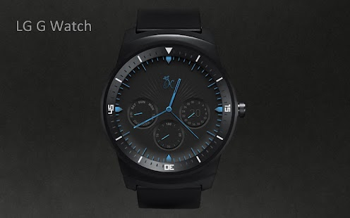 How to install KR alphablue watchface Moto360 1.0 unlimited apk for laptop
