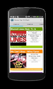 Chartix: Android Music Charts - screenshot thumbnail