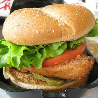 Chick-fil-A Original Chicken Sandwich.