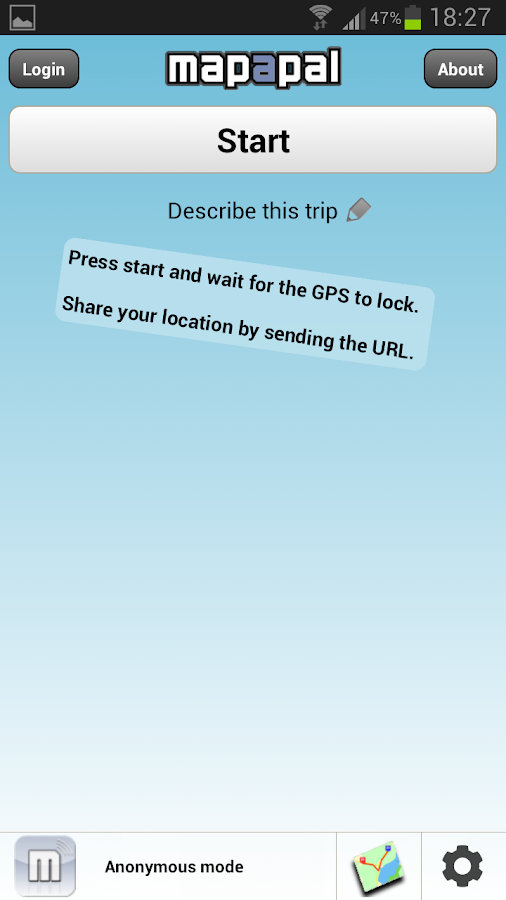Real time GPS Tracker ;Mapapal- screenshot