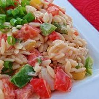 Crab and Orzo Salad