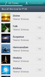 Indian Classical Ringtones - screenshot thumbnail
