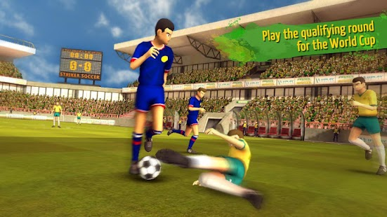 Striker Soccer Brazil- screenshot thumbnail