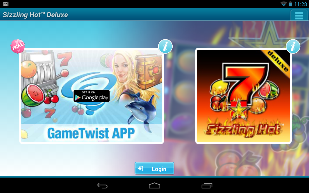 sizzling hot app android download