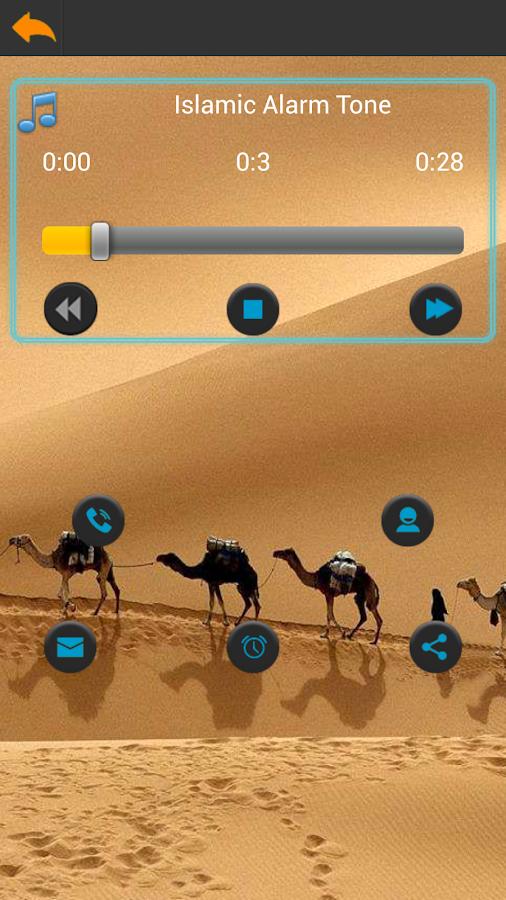 Arabian Ringtones- screenshot