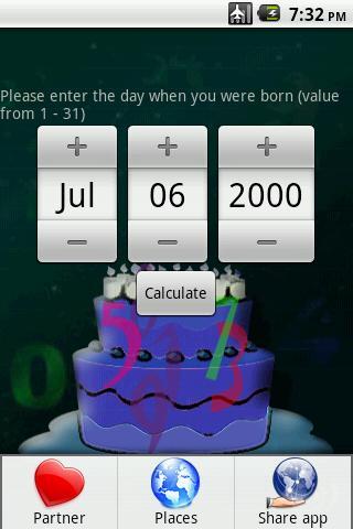 Numerology - screenshot