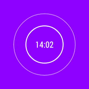 AlarmClock Extended for Wear - screenshot thumbnail