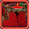 Love and Candle Live Wallpaper icon