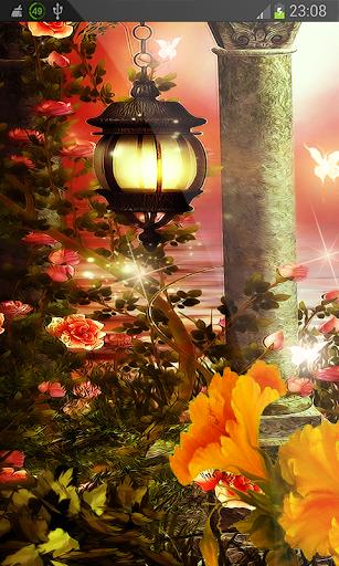 Spring Flowers Magic HD LWP
