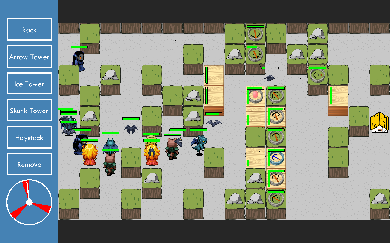 Three Piggies Tower Defense- screenshot