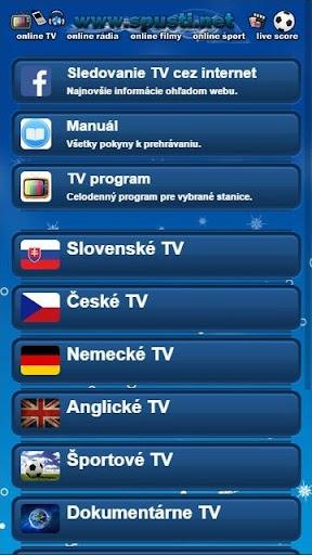 TV v mobile SK CZ