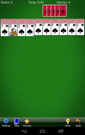 Spider Solitaire Screenshot 17