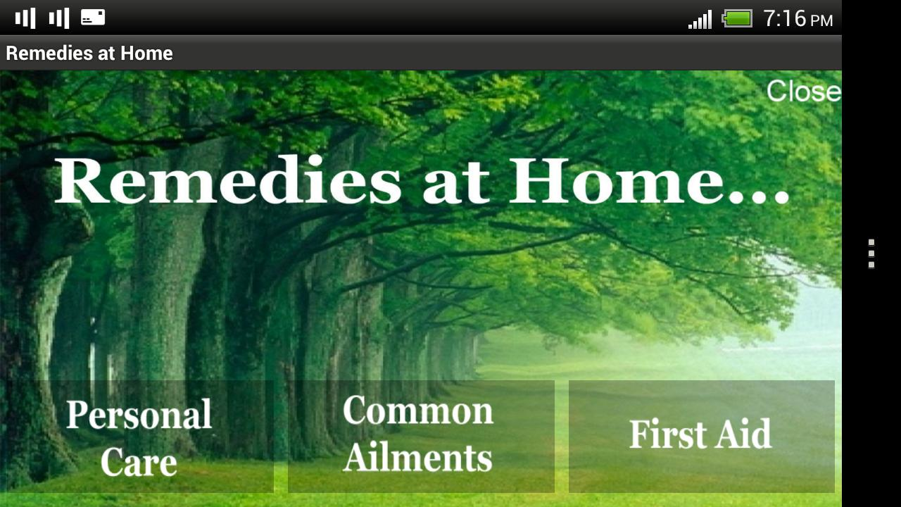 Remedies at Home - screenshot