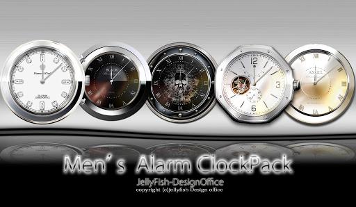 Men's目覚まし時計ウィジェットパック【目覚まし時計】