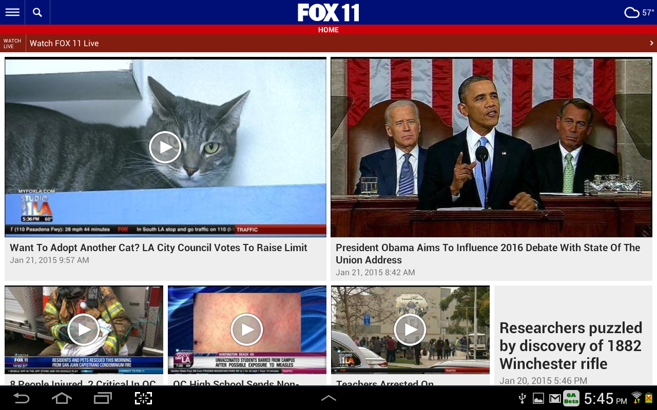 FOX 11 Los Angeles- screenshot