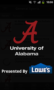 University of Alabama Sports - screenshot thumbnail