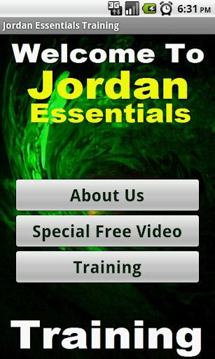 in Jordan Essentials Biz