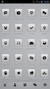 App Chrome Theme Go/Nova/Apex APK for Kindle