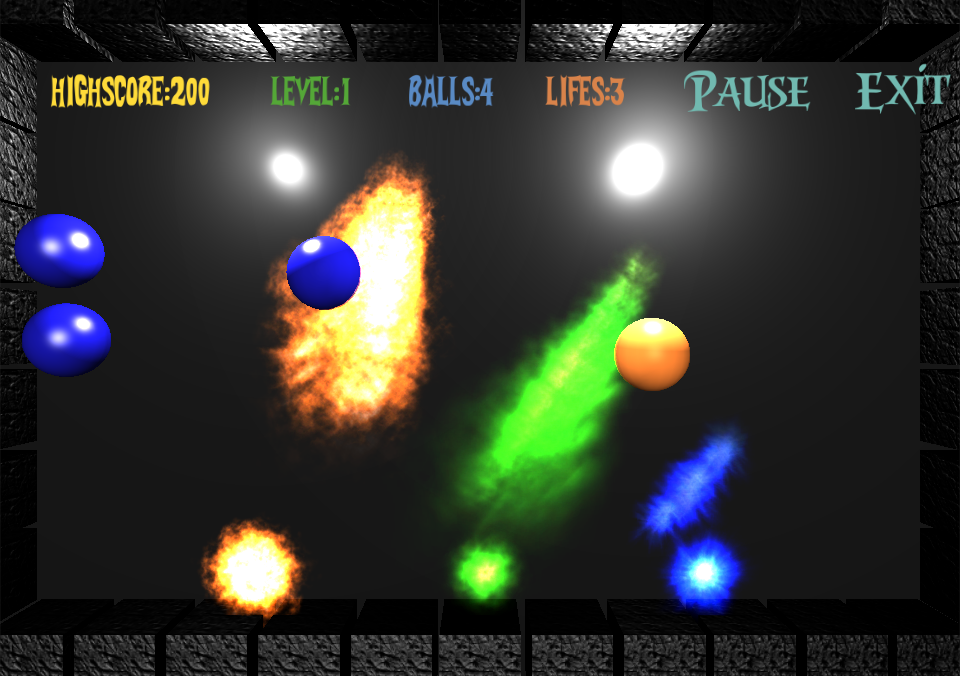 The impossible balls - screenshot