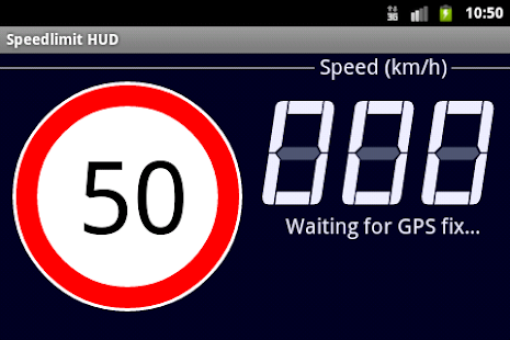 Speedlimit GPS Speed HUD - screenshot thumbnail