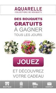 Aquarelle livraison de fleurs– Vignette de la capture d'écran