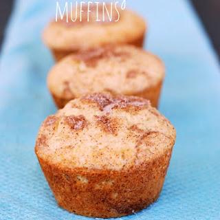 Fluffy Cinnamon Sugar Muffins.