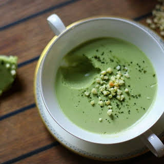 Matcha - White Chocolate Mousse.