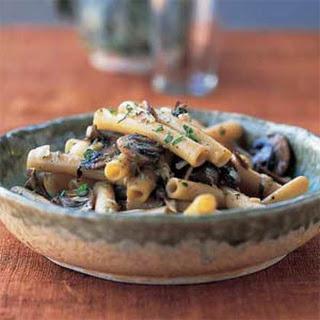 Ziti with Tuscan Porcini Mushroom Sauce