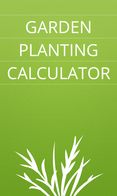 Garden Planting Calculator- screenshot