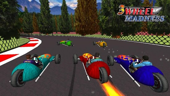 3 Wheel Madness 3D Car Race